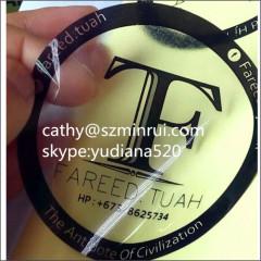 custom dia6.5cm circle stickers