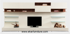 Modern style sectional tv stand living room