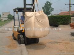 Cement packaging 2 loop circular bulk bag