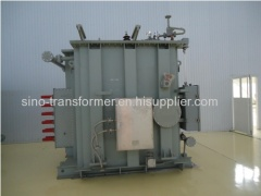 High impedance furnace transformer