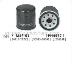 Auto oil filter TOYOTA Corolla Camry Yaris 90915-10001 90915-YZZC5