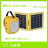 Rechargeable solar lantern with mobile phone charger
