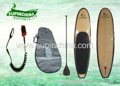 surfing Bamboo SUP fishing paddle boards custom stand up surfboard