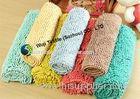 3cm Pile Lenth Household Carpets , Living Room Area Rugs Microfiber Shaggy Rug