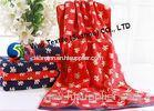 100% Cotton Beach Towels for Camping , Decorative Bathroom Towels