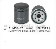 Auto oil filter Mitsubishi Lancer Galant V DELICA Box MD 135737
