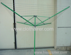 4 ARMS outdoor steel rotary airer