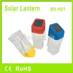 Portable solar led lamp for camping