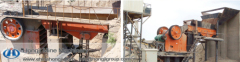 Low consumption stone vibrating feeder