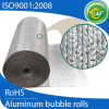 Heat insulation foil with Al and bubble for roof /pipe protection in china