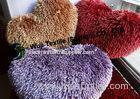 Lovely-designed Purple Chenille Cushion, Household Heart-shaped Pet Bed / Pad