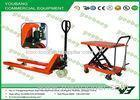 Small Platform hydraulic scissor lift trolley table 300kg with CE , GS