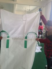 4 loop pian bottom & duffle top customized size bulk bag