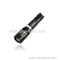 10w CREE XM-L T6 Rechargeable Zoomable Aluminum Portable Black or Golden Telescopic Camp LED Flashlight POPPAS-S11