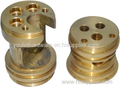 Forged brass valve components