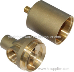 Forged brass three-way shunts