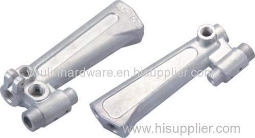 Forged silver aluminium alloy welding gun