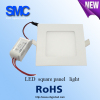 square 15w ultra thin led panel light for indoor using