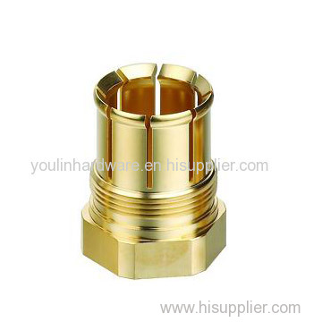 Brass machining fabrication parts
