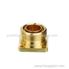 Extrusion brass terminals parts