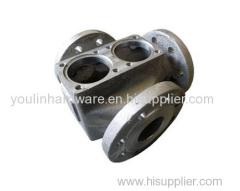 OEM CNC stainless steel valve housing