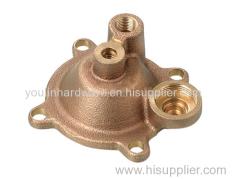 Casting bronze valve caps