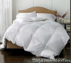 T230 Polyester Hypoallergenic White Duck Feather Quilt