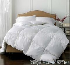 Modern Washed 80% White Duck Down Feather Quilt Winter Breathable Warm Comforter