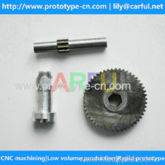 custom cnc machining precision aluminum parts OEM service accept single one pieces