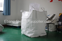 4 loop fill spout bottom spout flexible bulk bag