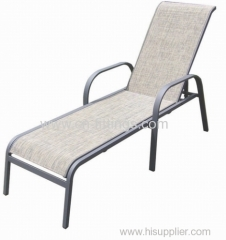 high quality outdoor textilene recliners