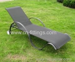 aluminium frame outdoor textilene recliners