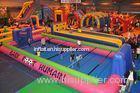 Giant Indoor Sport Game Inflatable Soccer Kick Field , Inflatable Court for Soccer Kicking