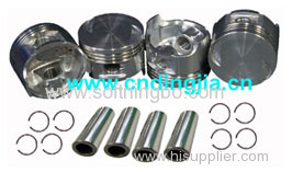 Piston Set / + 0.25 / 96567383 FOR DAEWOO MATIZ / SPARK 1.0