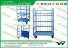 500kg logistics warehouse trolley cart materials handling trolleys with wheels