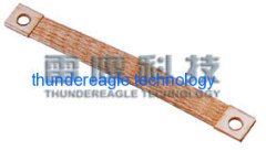 Flexible copper braid bond