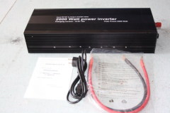 2000W Dual sockets with UPS&Charger function power inverte