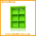 Colorful silicone ice cube tray