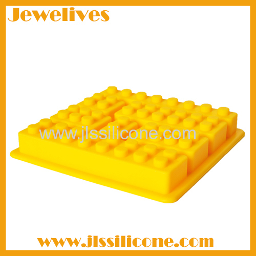 7 different cavitives silicone ice cube tray