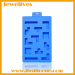 Silicone ice mold toy bricks shape