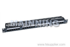 CAT5e 24 Port Patch Panel Unshield