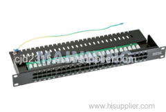 CAT3 Telephone Patch Panel 50port