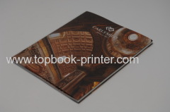 spot UV coating cover matte lamination softcover or softback book with dust jacket flaps