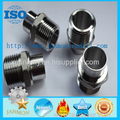 Stainless steel nipple Stainless steel union threaded end Stainless steel hexagon threaded pipe connection Nipples