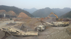 China Popular 100TPH Stone Crushing Plant on sale