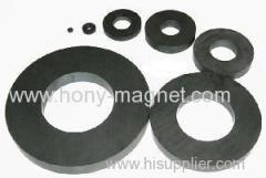 Hard Ferrite Arc Shaped Y35 Ferrite Magnet