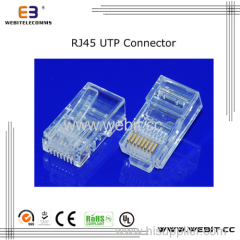 cat5e Rj45 UTP 8P8C Connector