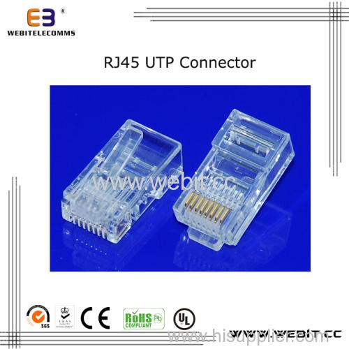 cat5e Rj45 UTP 8P8C Connector
