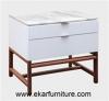 Wooden cabinet modern bedside nightstand