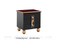 Broyhill night stand chest wooden handcraft